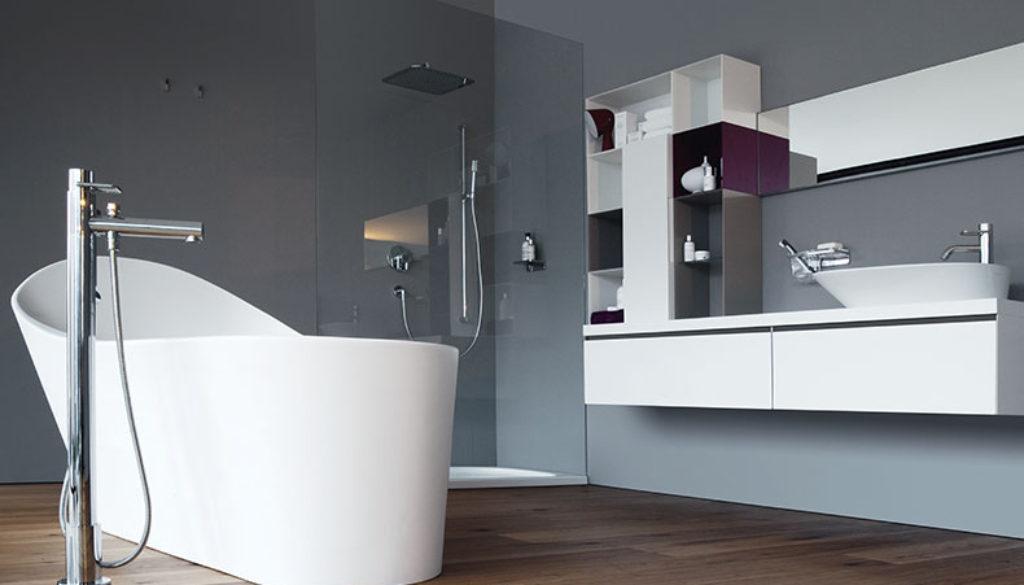Salle de bains savoir choisir sa baignoire label d co for Synonyme de salle de bain