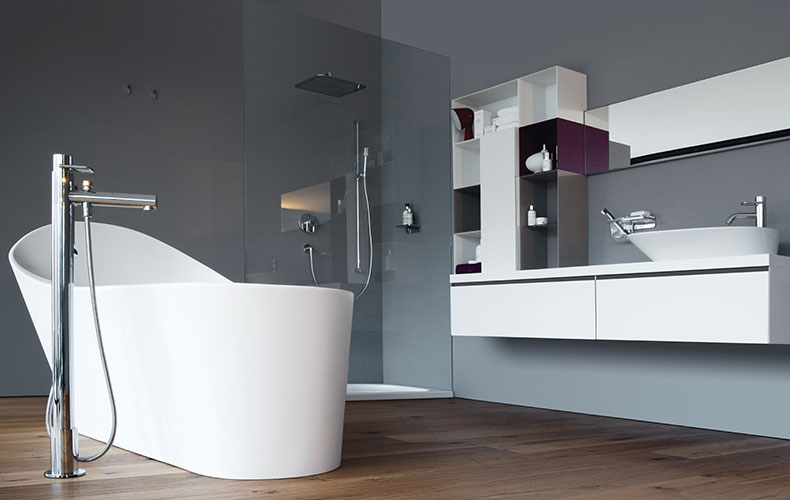Salle de bains : savoir choisir sa baignoire - Label Déco