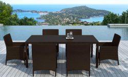 ensemble table chaises jardin 2