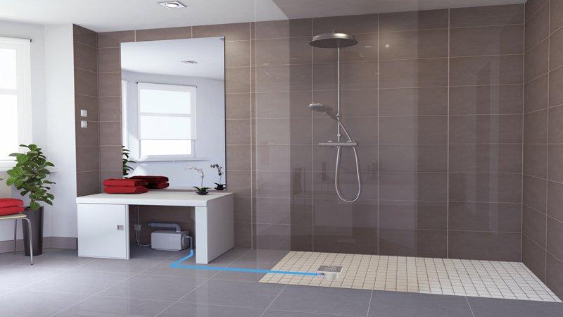 Comment faire une douche à l\'italienne ? - Label Déco