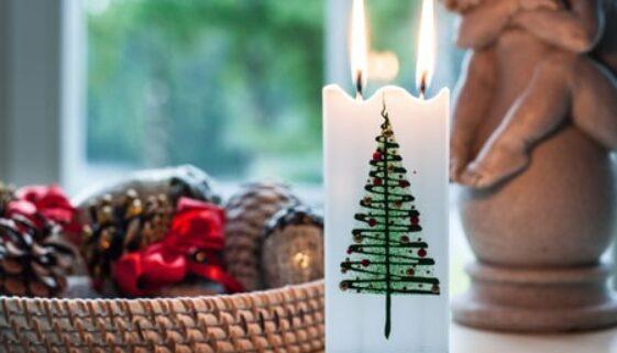 bougies de noel
