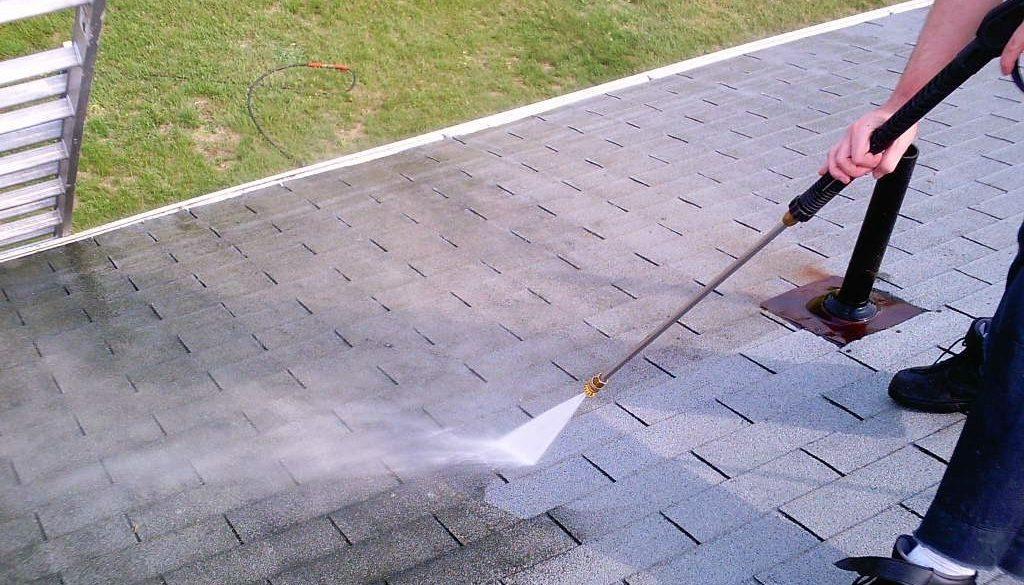 Nettoyage toiture ardoise