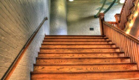 sablage escalier