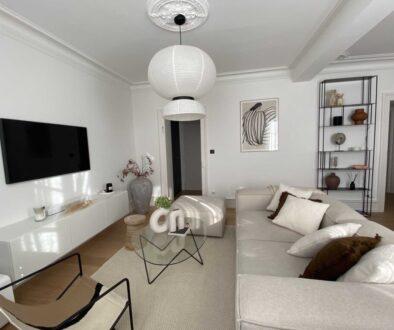 Projet treize renovation appartement strasbourg salon